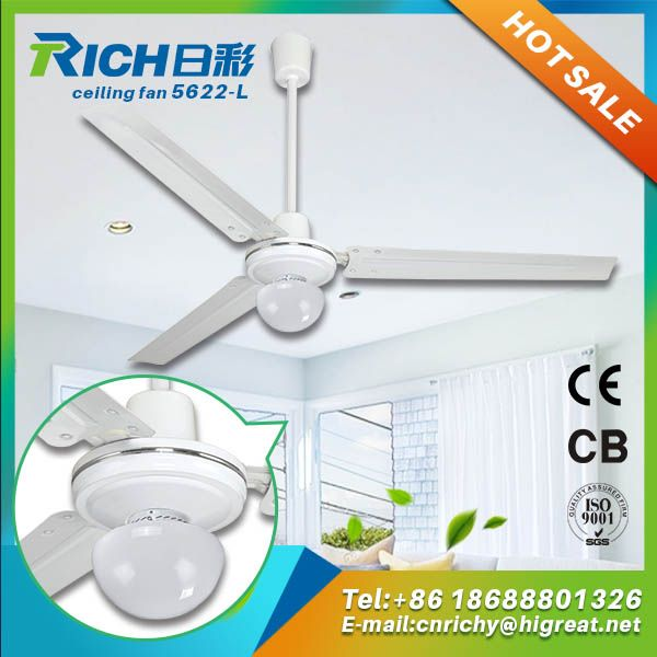 Factory Price Air Conditioning Electrical Ceiling Fan With Light