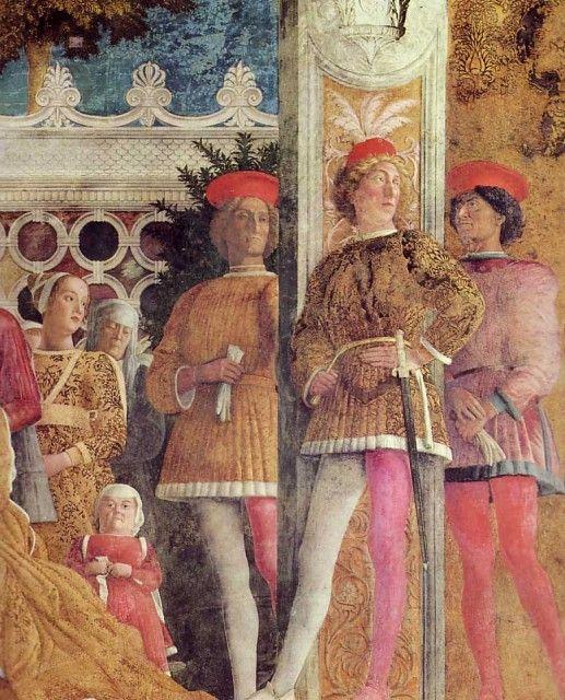 Andrea Mantegna - The Court of Mantua (detail)