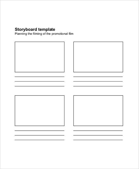 Best Storyboard Template Sample Storyboard Template Storyboard