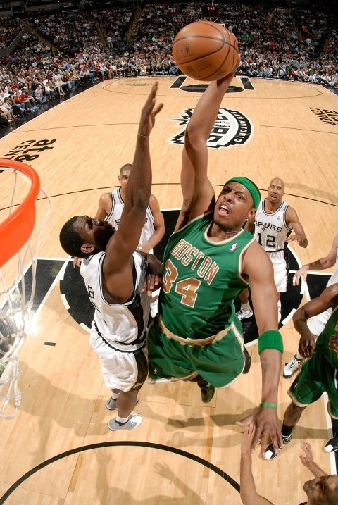 Paul Pierce and the Boston Celtics take on the San Antonio Spurs tonight at TD Garden. Tip-off at 7:30!