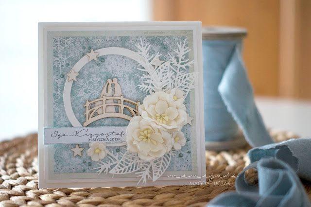 Winter wedding card (mamajudo.blogspot.com)