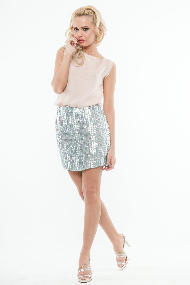 New Collection from Nicole Enea - fashion designer! Find your favorite sequin skirt on www.nicolenea.com