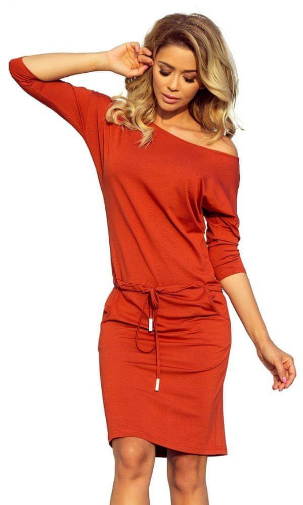800c70a04f7 Numoco dámské šaty M oranžová