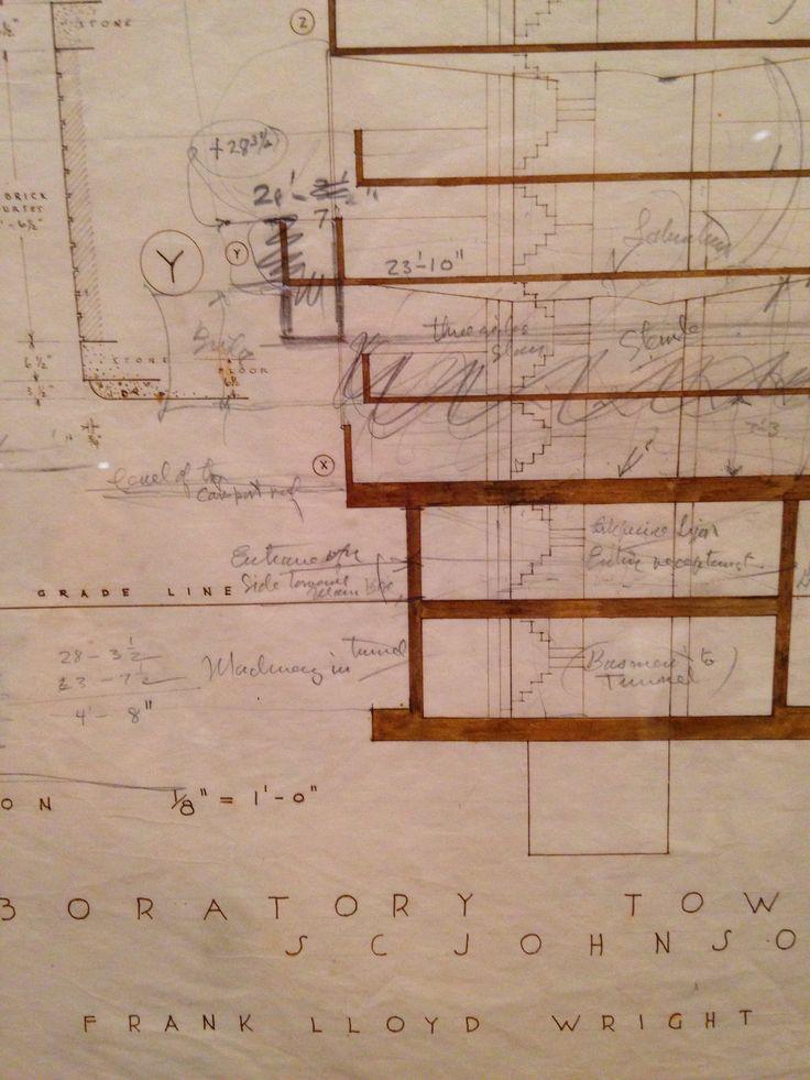 FL Wright #drawings#Moma temp exhibition #NY