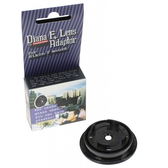 Diana F+ Lens Adaptor For Nikon F Mount - Fred Aldous