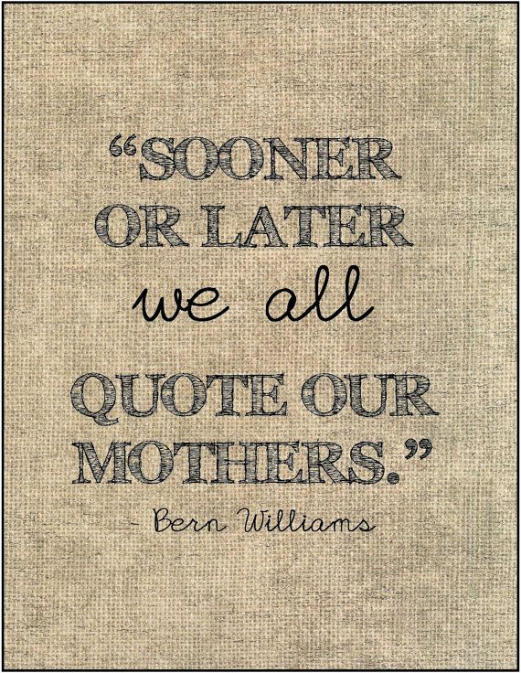 Mother's Day quote typography print gift by JenniferDareDesigns, $8.00
