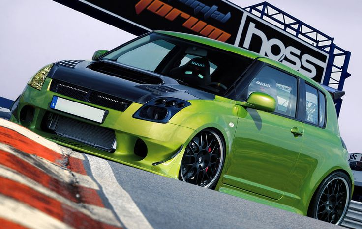 Suzuki Swift HOSSPORT by ~Hossworks on deviantART