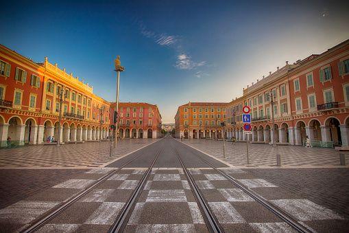 Place Massena, Nice, South France