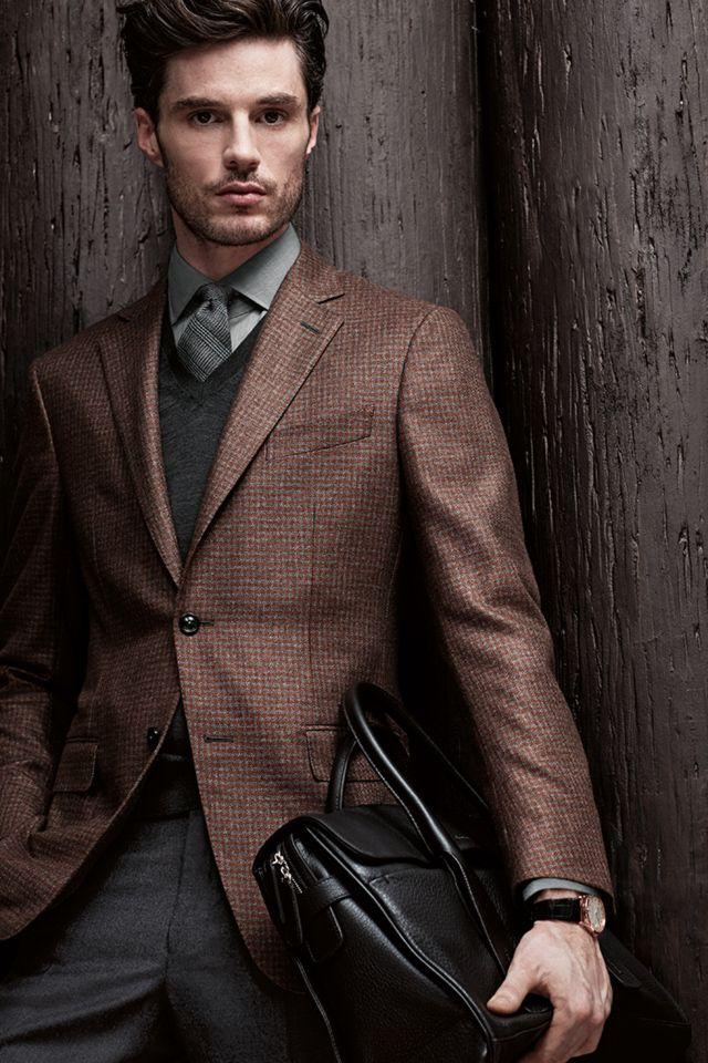 Paleta Otoñal - Trajes masculinos de sastrería personalizados