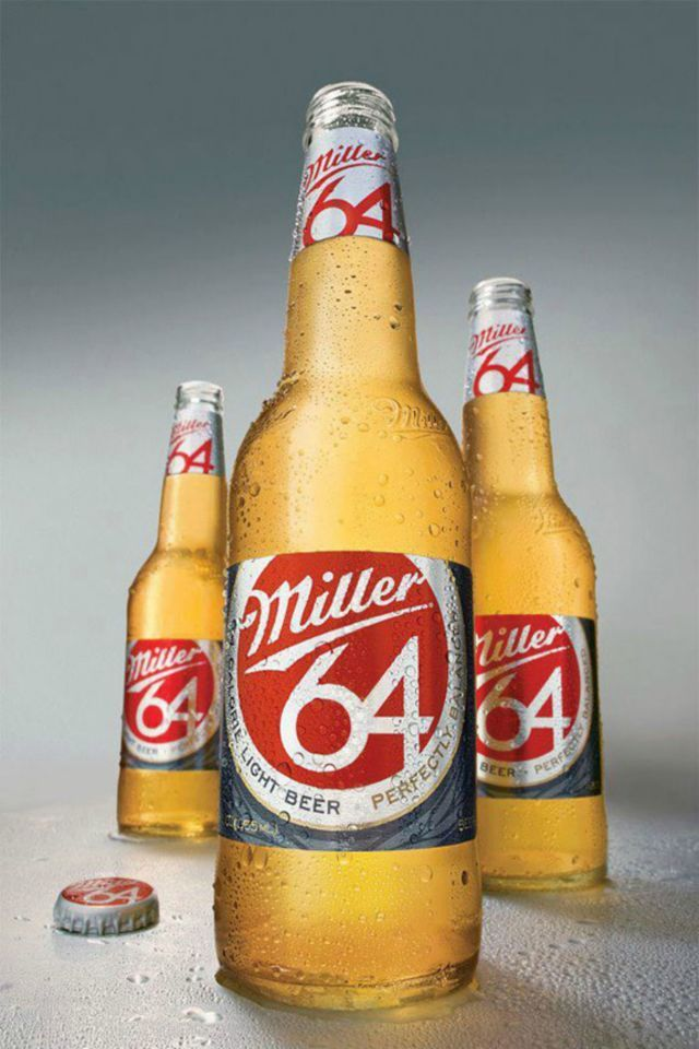 Best Low-Calorie Beer for St. Patrick's Day-Miller 64-A tried and true classic, Miller's 64-calorie beer will let you enjoy more than one brew without any guilt. Find more guilt-free beer at redbookmag.com.