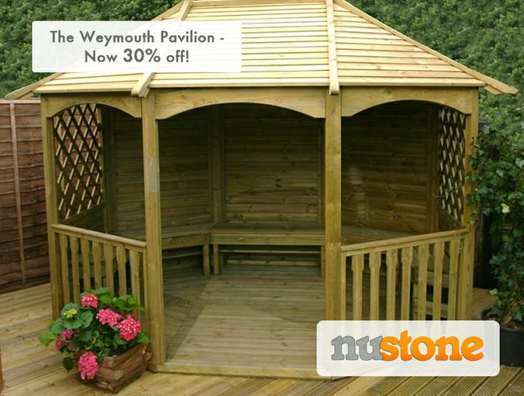 Make the most of the outdoors this summer with the Weymouth Pavilion! Now with a massive 30% off!