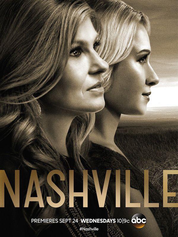 Nashville Season 3 Key Art Poster Hayden Panettiere Connie Britton Nashville returns to ABC on Wednesday. A favorite show of mine.