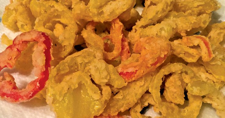April 2016 FW:  Recipes --Fried Banana Pepper Rings