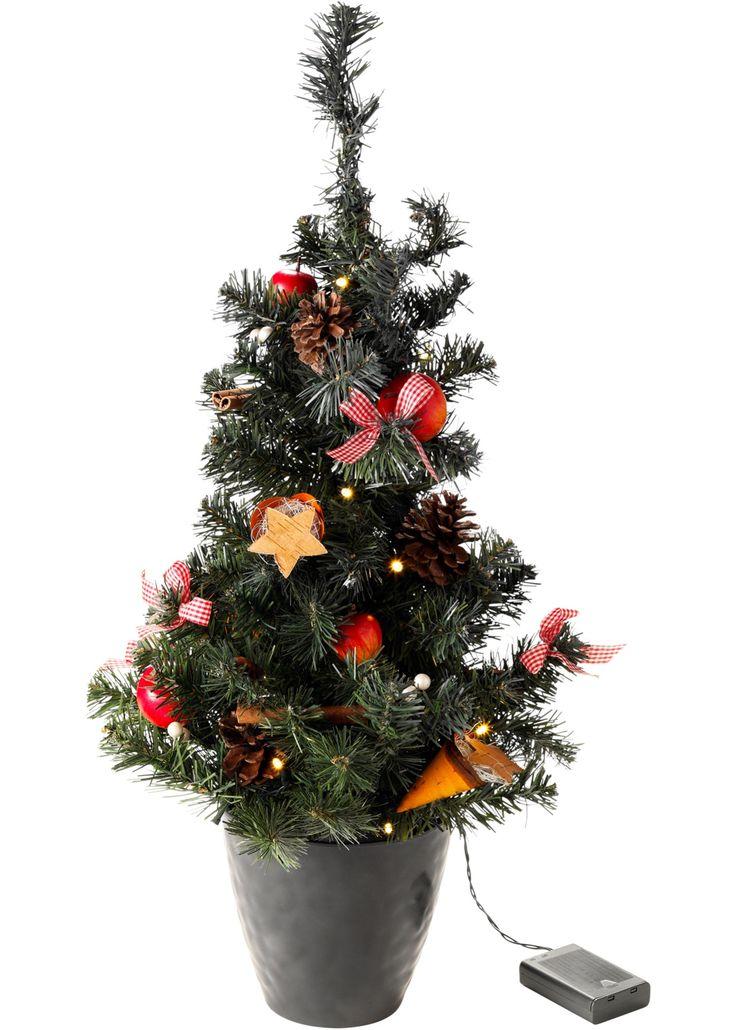 Great K nstlicher LED Weihnachtsbaum mit umfangreicher Dekoration