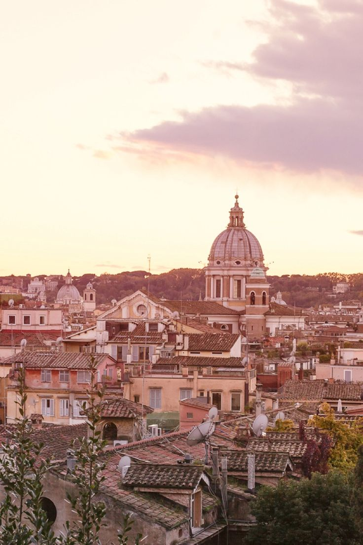 The beautiful city of Rome. http://flyawaybride.com/rome-anniversary-session-with-in-love-in-italy/  #Rome #Capitalcity #Italy #View #Scenery #DestinationWeddings