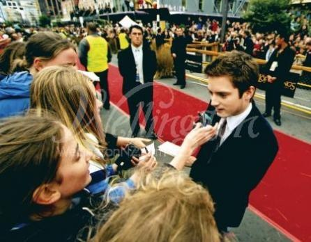 Elijah Wood at the Return of the King Premiere in Wellington, New Zealand.