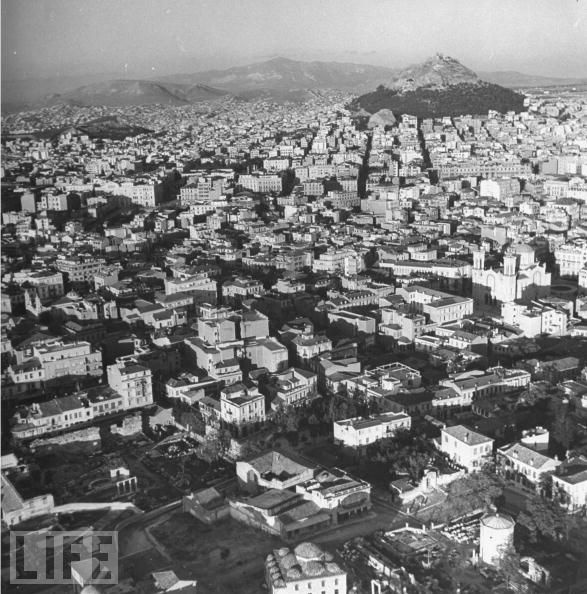 Athens From Above in 1944, #solebike, #Athens, #e-bike tours