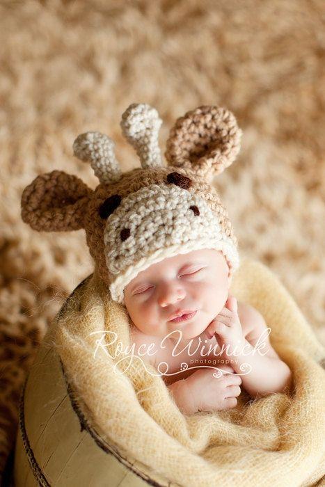 giraffe hat - LOVE