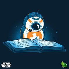 "3,177 Likes, 2 Comments - TeeTurtle (@teeturtle) on Instagram: ""Celebrate Star Wars Reads Month! #TeeTurtle #StarWars #BB8 #StarWarsReads"""