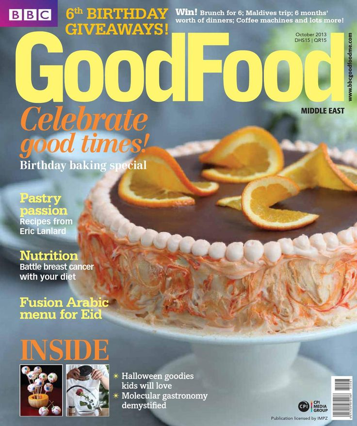 ISSUU - BBC Good Food ME - 2013 October by Corporate Publishing International
