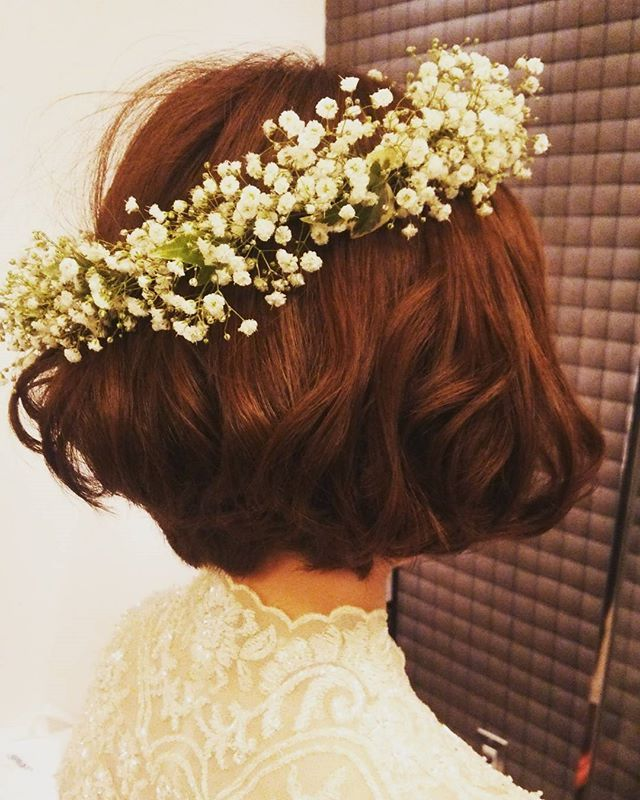 Definite idea look for hair arrangement