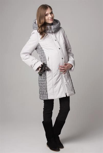 Зимняя одежда для беременных пальто