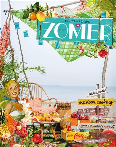 De zomer wordt een feestje met het originele en creatieve magazine Zomer van Sestra! Met in deze editie: veel reisverhalen, outdoor cooking, 30-dagenproject 'omzien naar de schepping' en de mooiste typemachines.