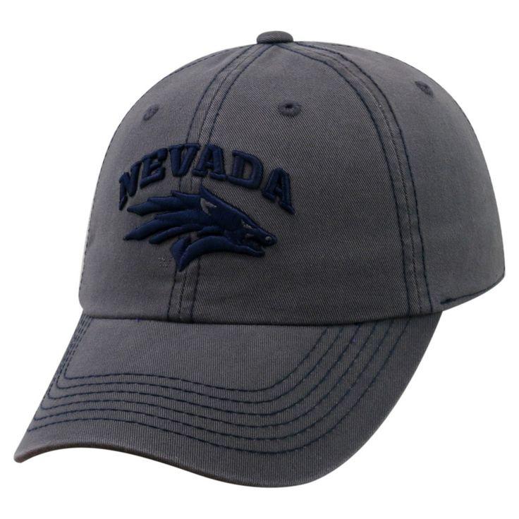 Baseball Hats NCAA Nevada Wolf Pack Rich Charcoal, Men's