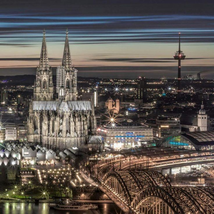 Cologne Germany. Love this photo ☺ my sister lives there