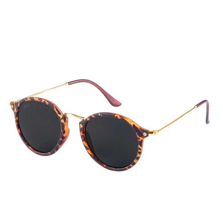 Urban Classics Spy ronde zonnebril havanna/grijs - Urban Classics | At