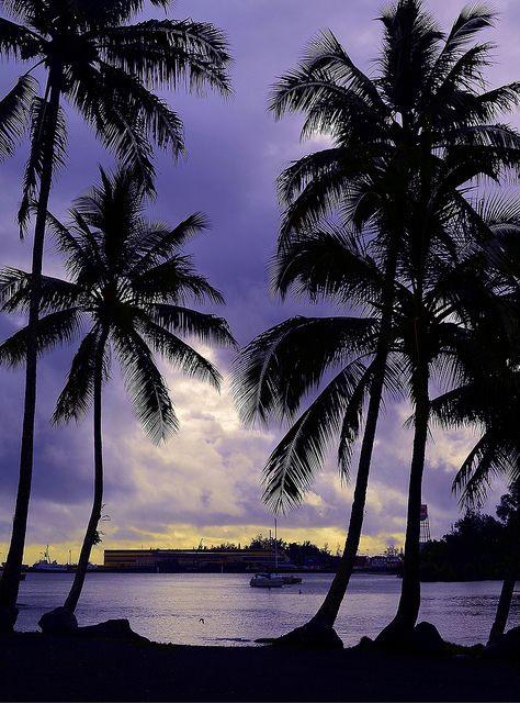 Hilo Bay Lagoon. #Hawaii