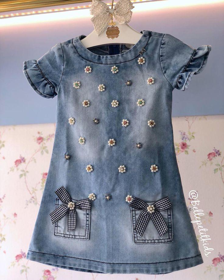 Das schönste Jeanskleid, das es gibt und das durch deine #Timeline geht! T #T …
