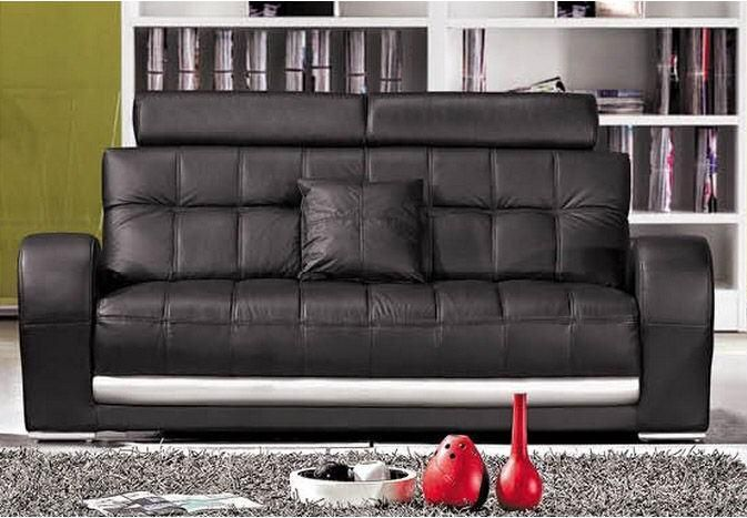 Best 25 canape cuir noir ideas on pinterest for Canape chesterfield cuir pas cher