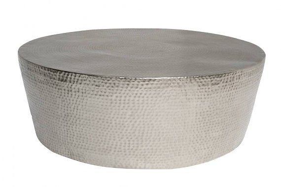 size 40 b94e5 29afb HAMMERED METAL DRUM COFFEE TABLE | Occasional Tables | Drum ...