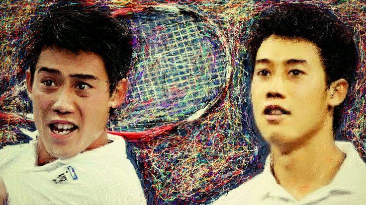 僕は錦織圭選手を応援してます、本当は最もたくさんの日本人選手がトップランクに何人か入てもおかしくないはずです、世界でもテニスの盛んな国であると同時に軟式テニスはトップクラスです、錦織の強さは軟式テニスを取り入れたJapanテニスできっと世界ランク1位も間違いし、優勝すればたくさんの後輩が出てくるはずです、そんな錦織圭選手をお絵描きしました。  Kei Nishikori vs Stanislas Wawrinka ~ Highlights ~ US Open 2014 (QF) http://youtu.be/o3uRdsyhP8M