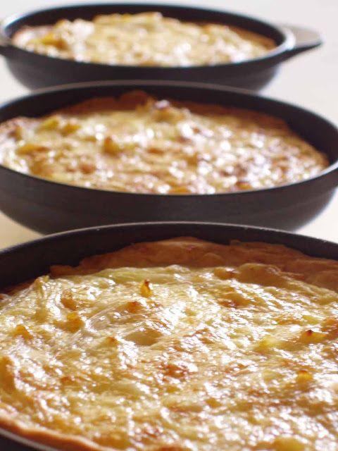 Bocados dulces y salados: TARTALETAS DE CEBOLLA Y QUESO GRUYÈRE