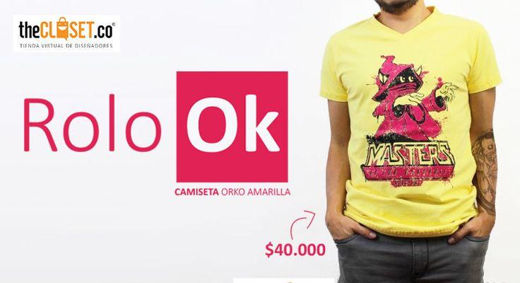 Un estilo #vintage que nos permite vivir nuestro propio estilo con camisetas personalizadas de Rolo-ok Camisetas #RedDeDiseñadores #DiseñoIndependiente #TheClosetco