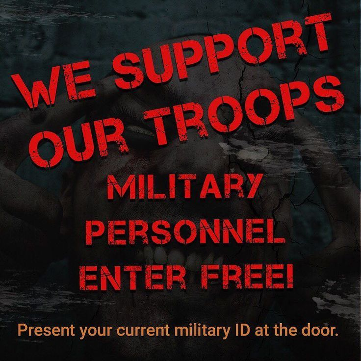 BANE is the only Haunted House in America that grants FREE ADMISSION to Any and all military personnel active or retired. Just bring your ID and you're in!  We support our troops! http://ift.tt/1pclac5 . . . . . . . . . . . #bane #hauntedhouse #halloween #wesupportourtroops #supportourtroops #america #halloween2017 #newjersey #thingstodoinnj #jerseykids #banehauntedhouse2017 #scary #spooky #horror #it
