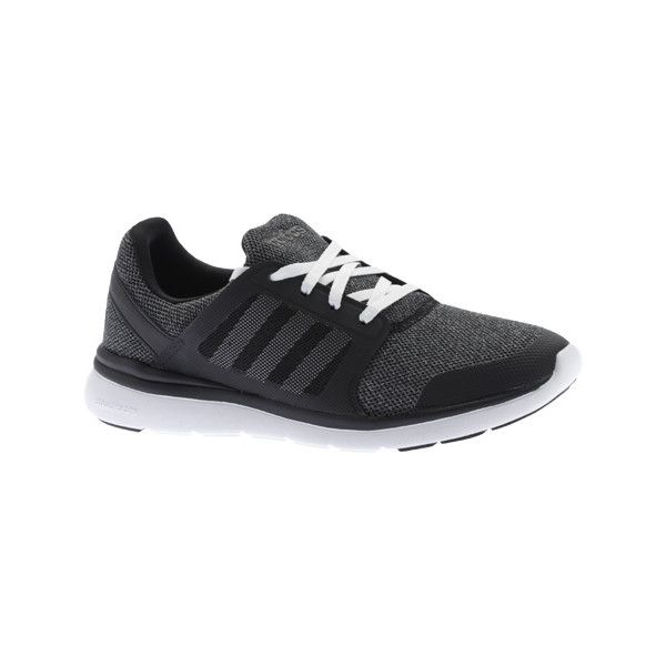 Women's adidas Cloudfoam Expression Sneaker - Black/White/Onix... ($70) ❤ liked on Polyvore featuring shoes, sneakers, black white sneakers, white and black sneakers, black white shoes, adidas trainers and black and white trainer