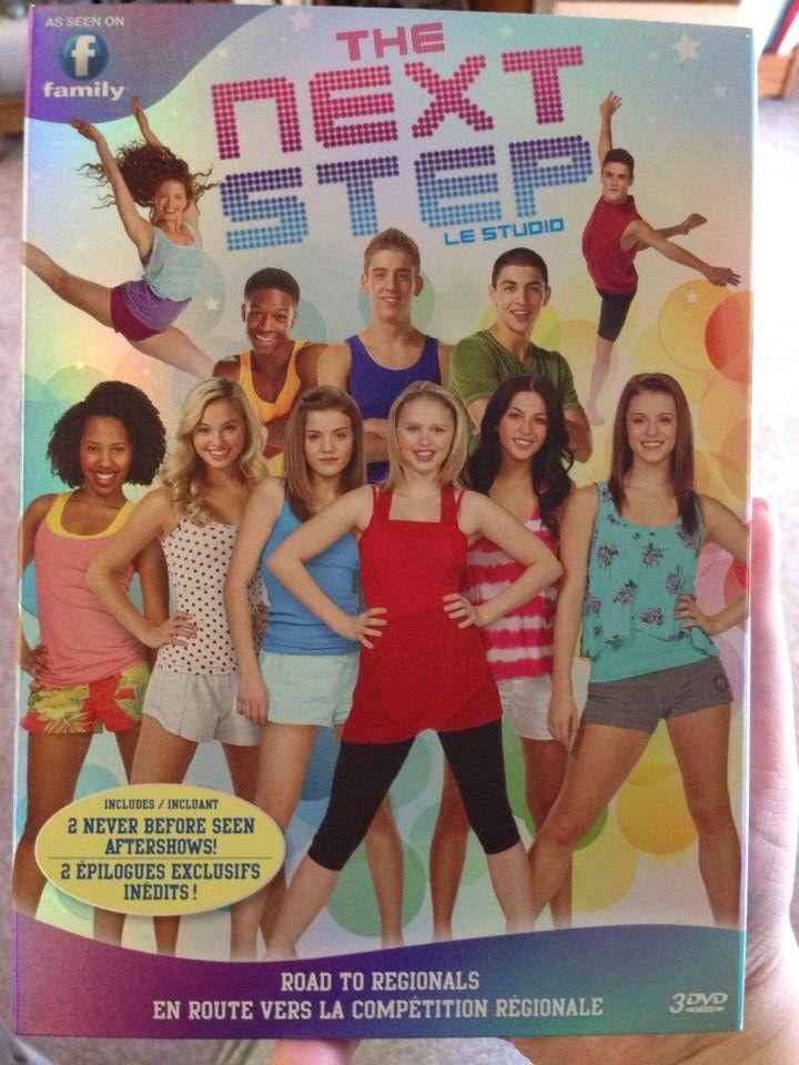 The Next Step Season 1 Part 1 DVD