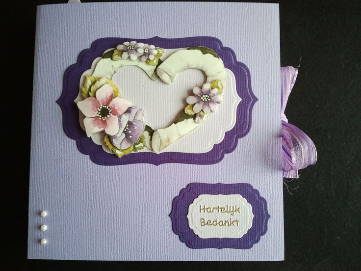 Thank you bookcard. For my sister-in-law. 3d picture by Marieke Desgn.