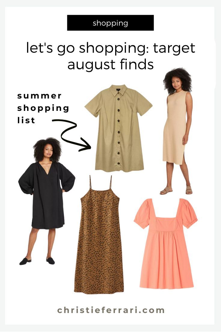 Let S Go Shopping Target August Finds Christie Ferrari Summer Dress Outfits Casual Casual Dress Outfits Summer Dress Outfits [ 1102 x 735 Pixel ]