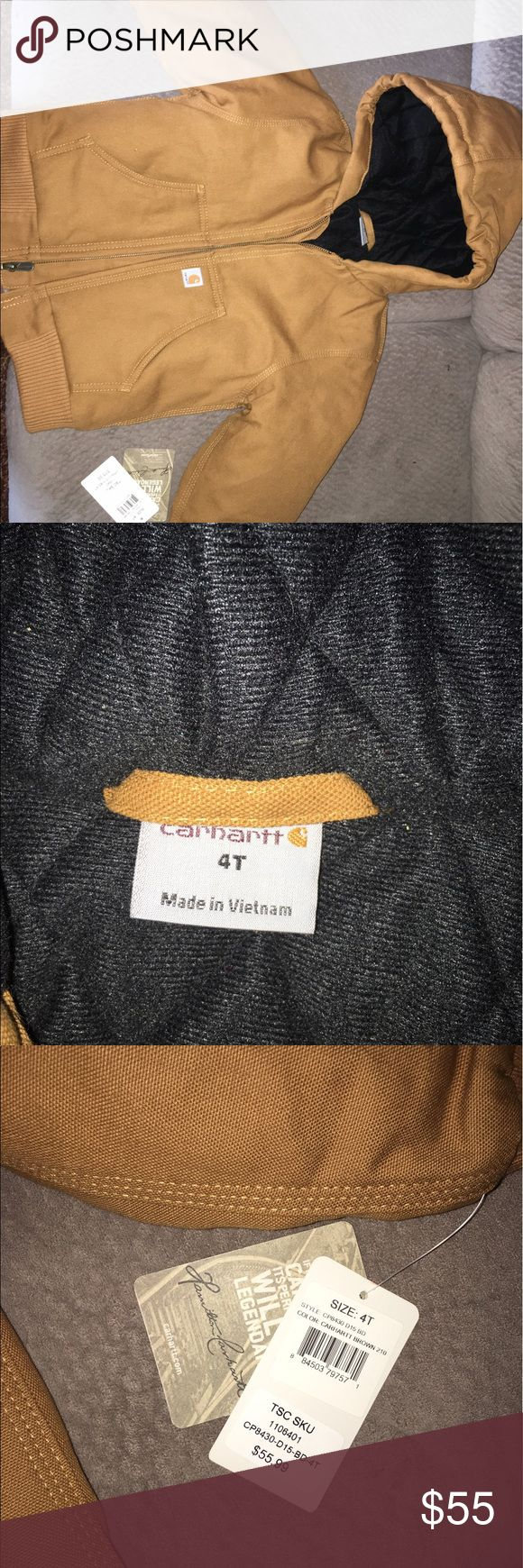Carhartt coat Brand new with tags! Size 4t Carhartt Jackets & Coats