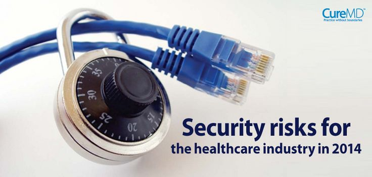 With the emerging technological trends and with new devices coming out each year, the security risks for the healthcare industry are huge. Cyber crimes keep on getting sophisticated. - Read more at: http://blog.curemd.com/security-risks-for-the-healthcare-industry-in-2014/  #HealthCare  #HITSM #HCSM