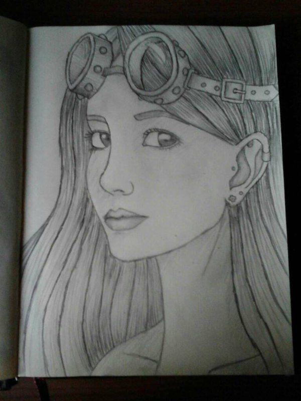 Steampunk girl by night2305 on DeviantArt