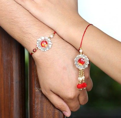 Buy designer rakhi for your beloved brother who stays miles away from you. Now, send rakhi to USA online with amazing gift hampers and sweets. Make your brother feel special by sending rakhi gifts for Brother through Handicrunch.com