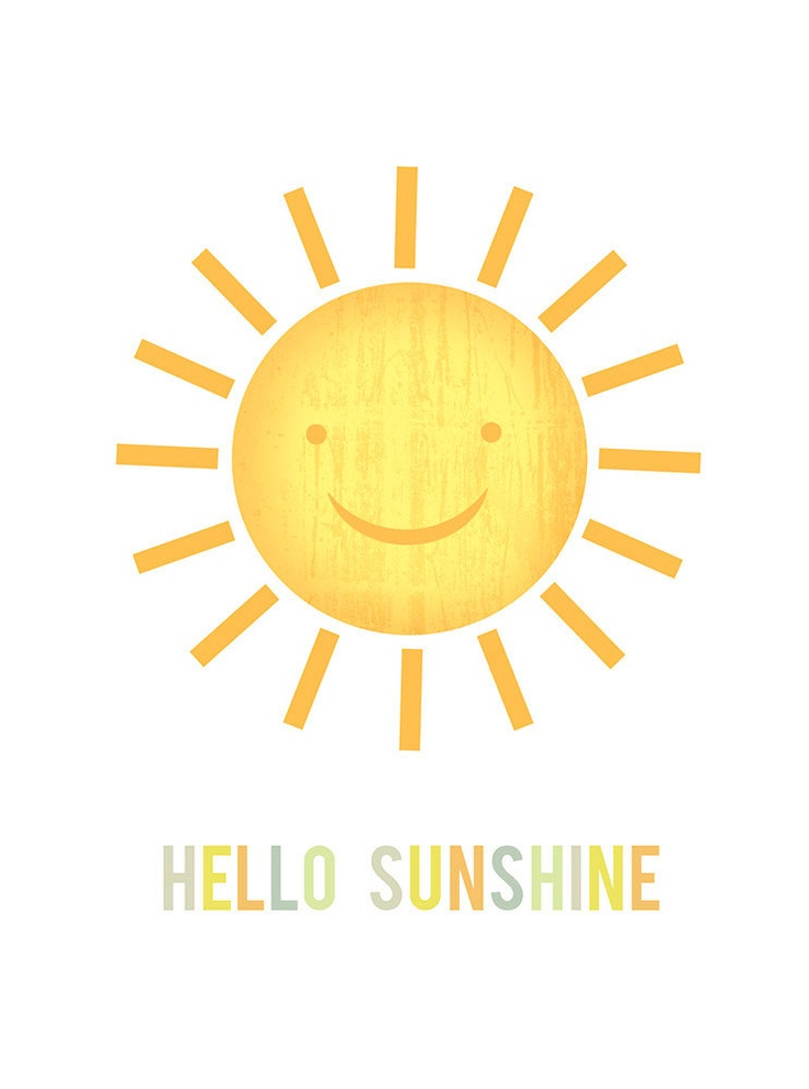 Hello Sunshine! Happy Weekend from all of us at Eats ...