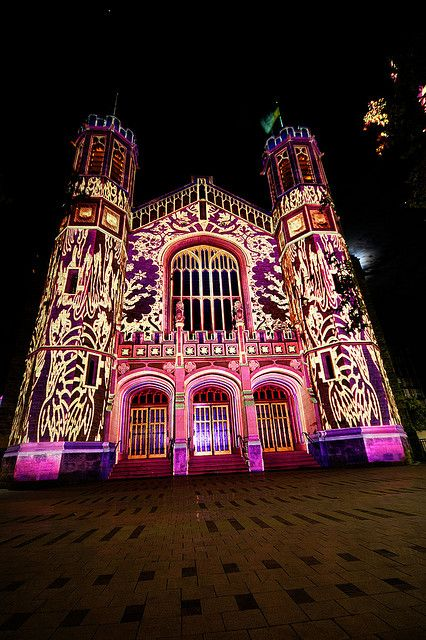 Part of the Adelaide Fringe Festival. Selected buildings were given a makeover courtesy of projectors