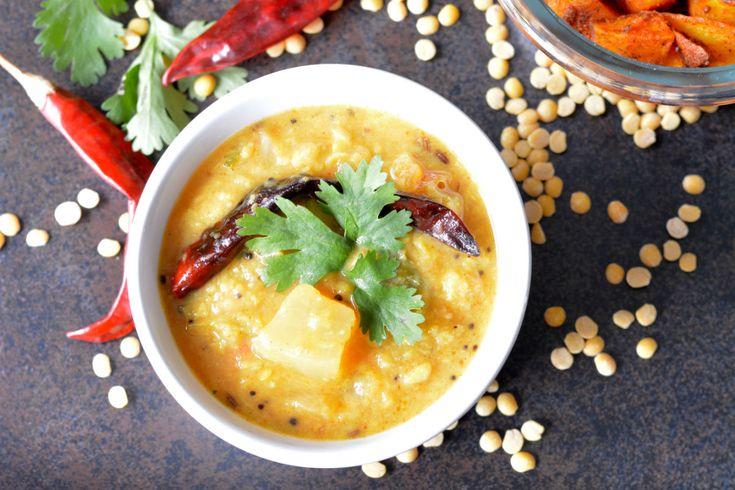 Dosakaya Pappu Recipe (Andhra Style Yellow Cucumber Dal)
