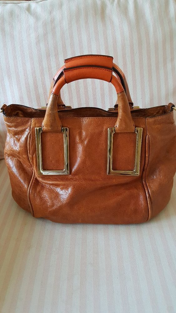 903fc463f5 CHLOE WHISKEY COLORED LEATHER